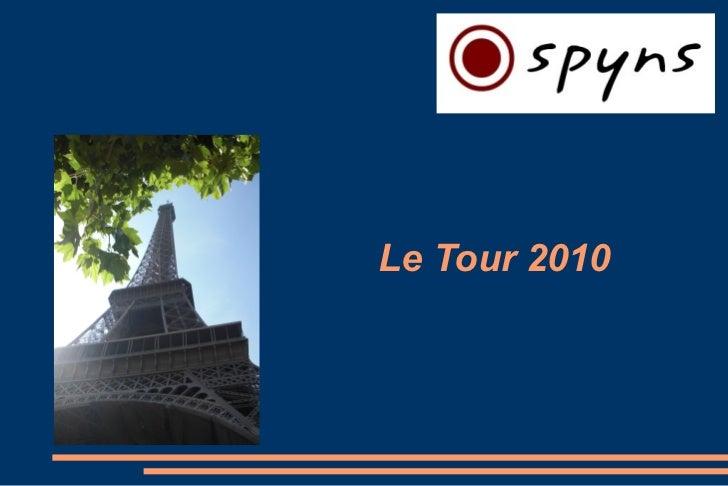 Le Tour 2010