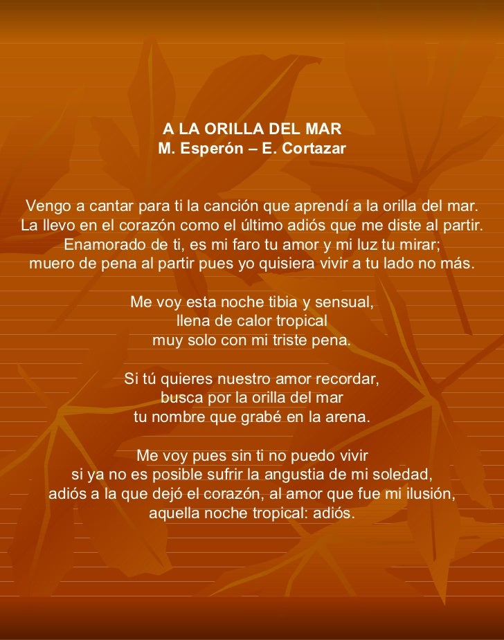letra de la cancion de no le temas a: