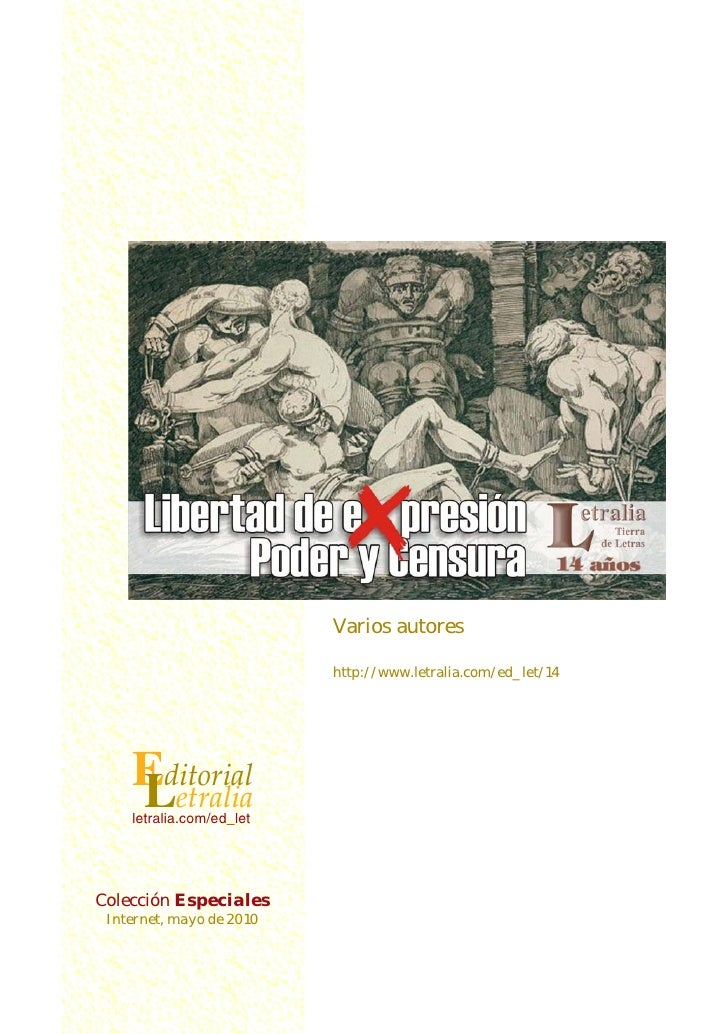 Varios autores                          http://www.letralia.com/ed_let/14    Editorial    Letralia    letralia.com/ed_letC...