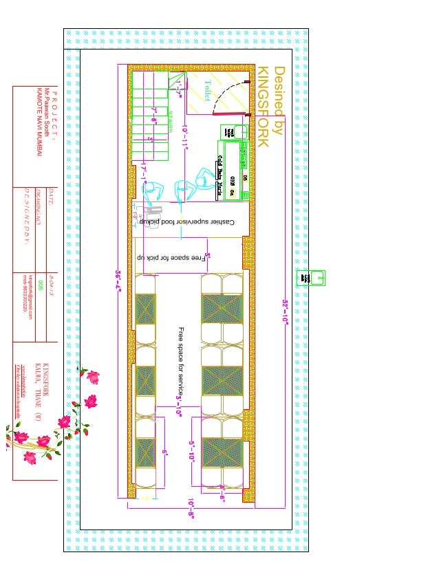 fast food layout. Black Bedroom Furniture Sets. Home Design Ideas