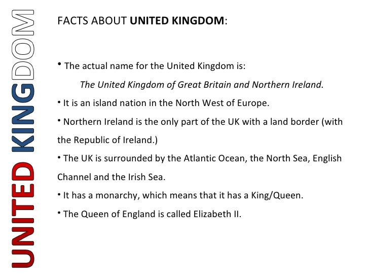 Fun Facts About Northern Ireland For Kids