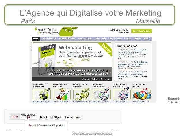 Let's go to E-market 2013 : Les Commandements Web-Marketing pour 2013
