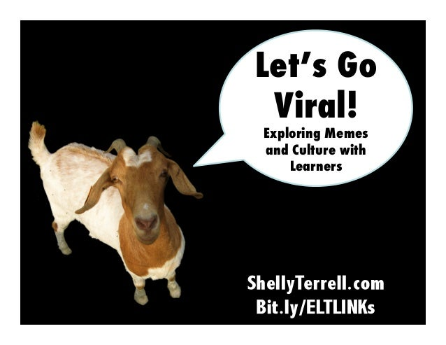 Let's Go Viral! Exploring Memes and Culture with Learners