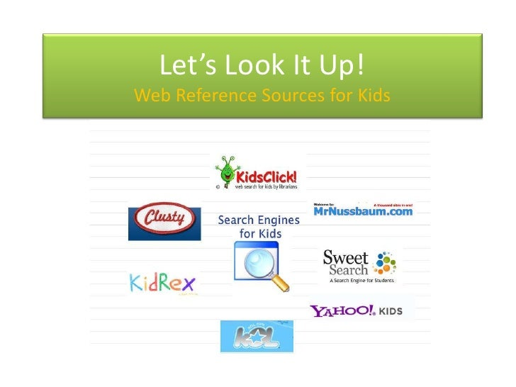 Let's Look It Up! Kids Browse and Search Online