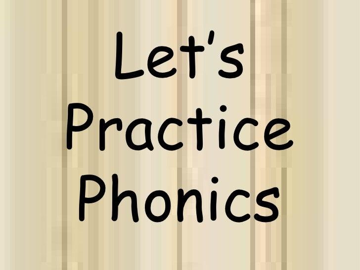 Let's Practice Phonics<br />