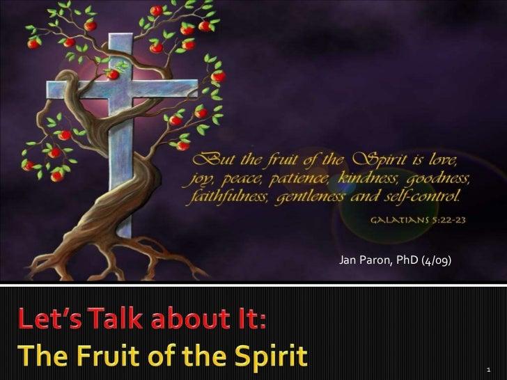 Jan Paron, PhD (4/09)                        1