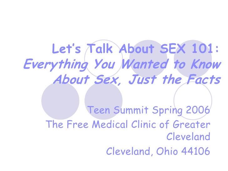 Let'S Talk About Sex 101