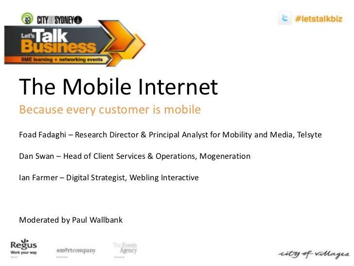 Let's Talk Business - Mobile Internet 07.06.11