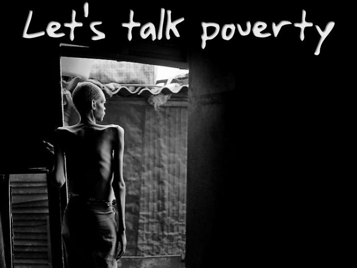 Lets Talk Poverty