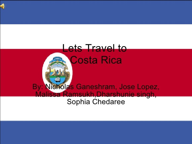 Lets travel to costa rica 5-205