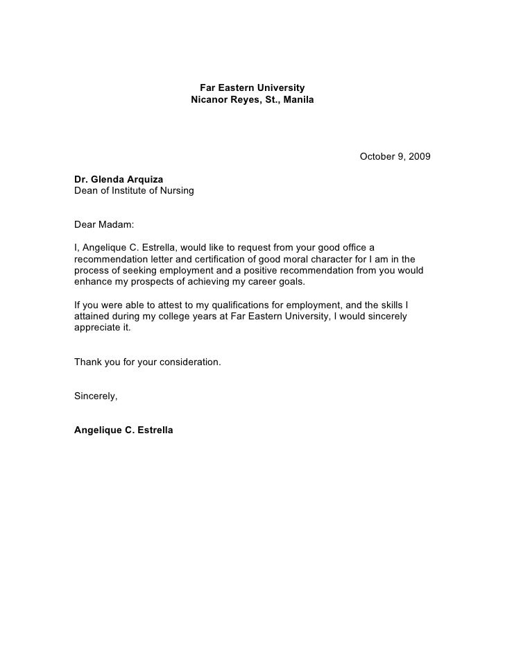 16 recommendation letters for a friend free sample 6 good moral personal yelopaper Choice Image