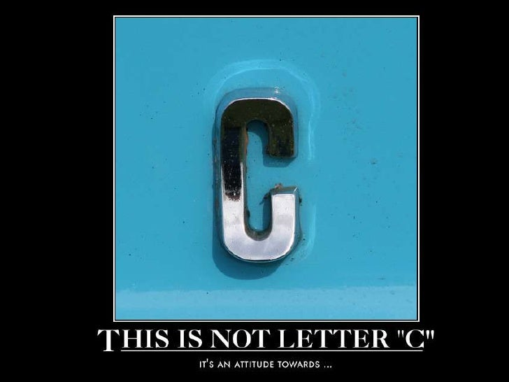 This is not letter C