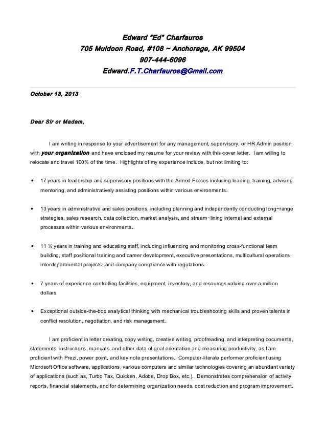 Letter, cover   e. charfauros