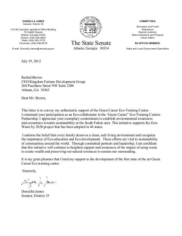DONZELLA JAMES                                                                        COMMITTEES:           Senator, Distr...