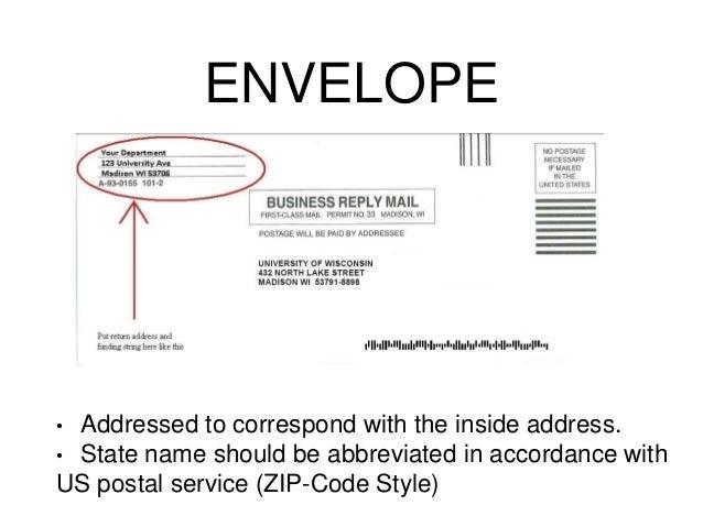 how to write po box address on envelope australia