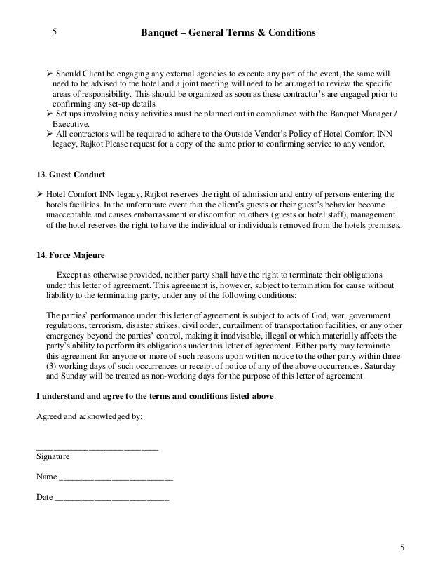 wedding venue contract template