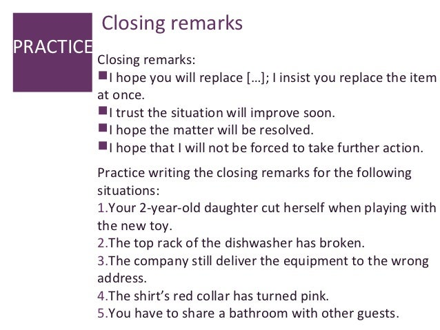 closing remarks example of an event | just b.CAUSE