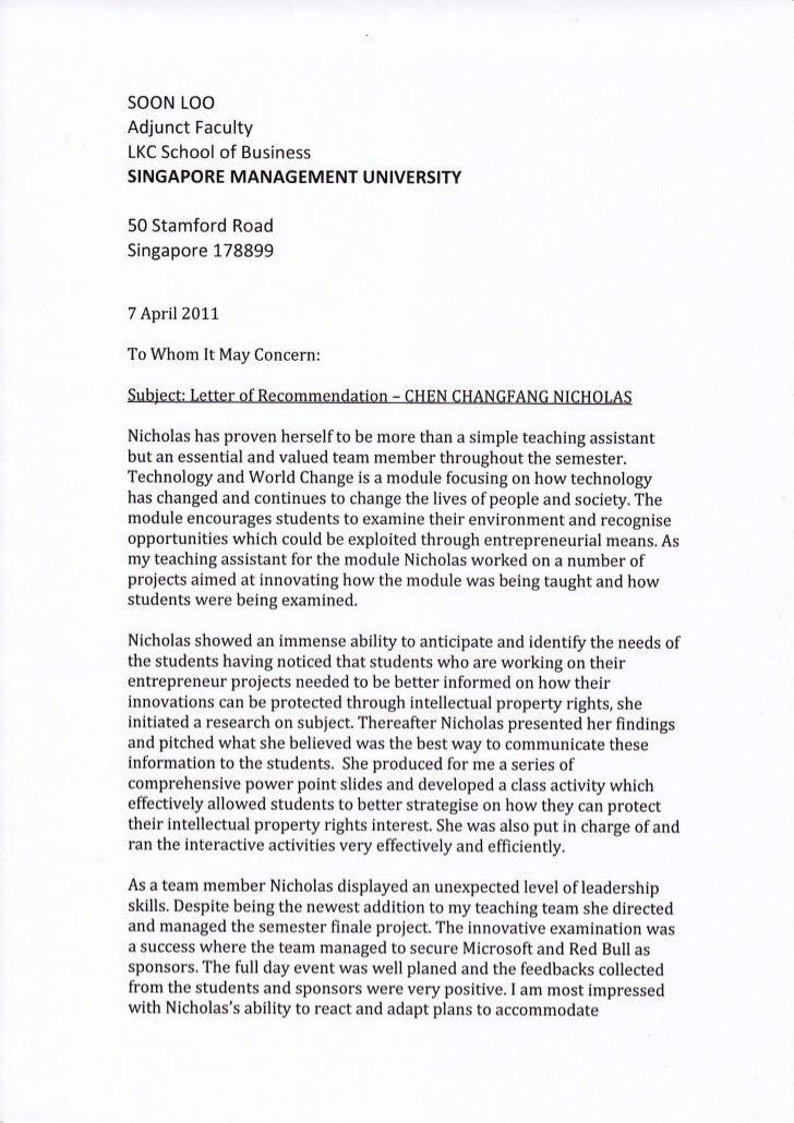 harvard mba  recommendation letter for harvard mba