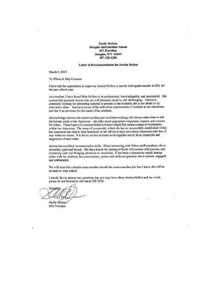Letter Rec Dejean