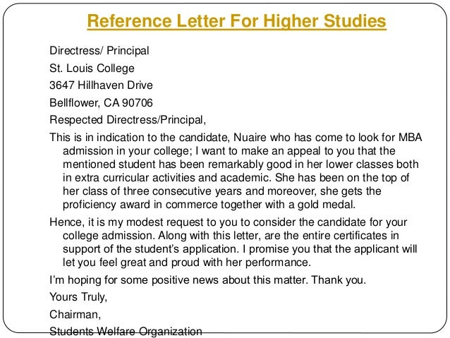 request letter for higher studies to employer my blog about