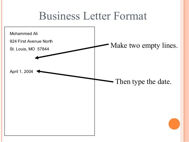 Business letter writing help skills
