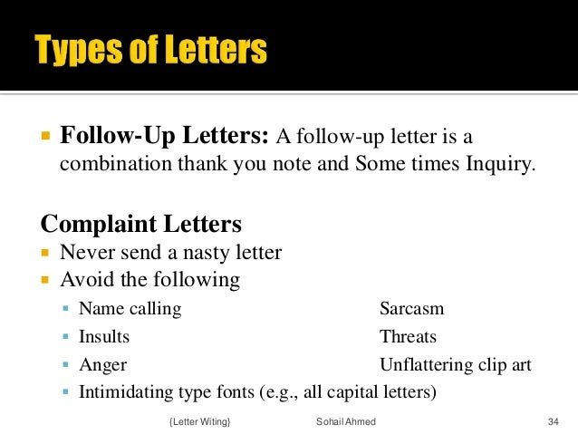 Follow Up Letter Definitionbusiness Examples