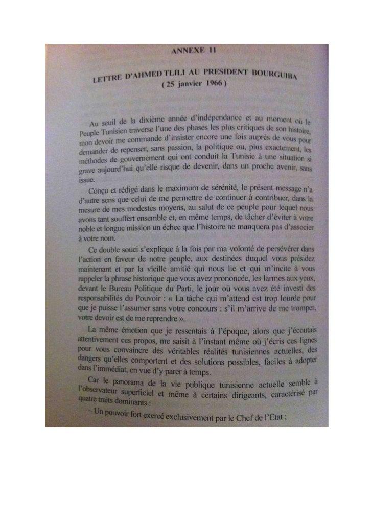 Lettre d'Ahmed Tlili à Bourguiba 25_01_1966
