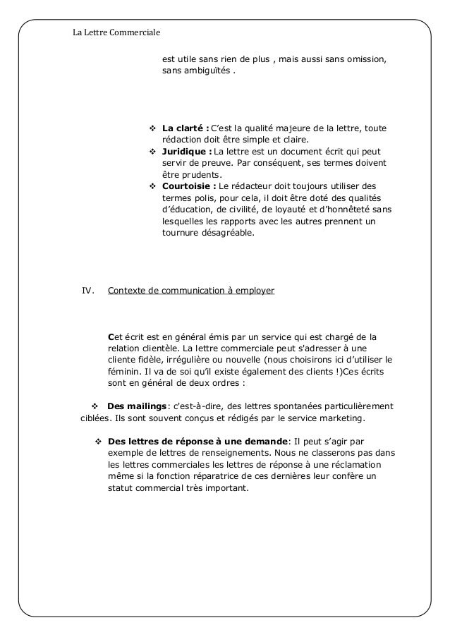 format lettre en anglais
