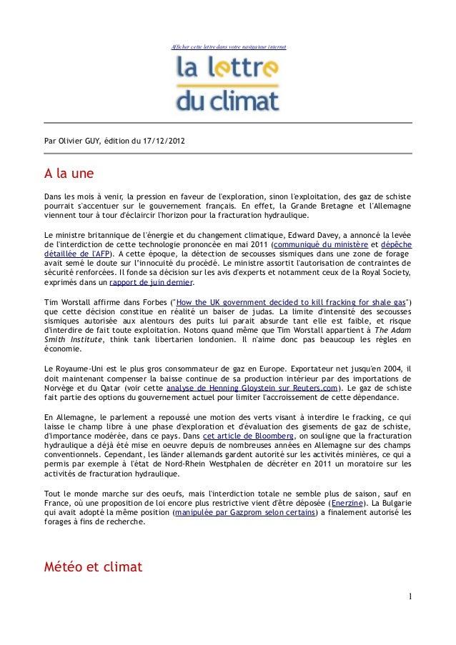 Afficher cette lettre dans votre navigateur internetPar Olivier GUY, édition du 17/12/2012A la uneDans les mois à venir, l...