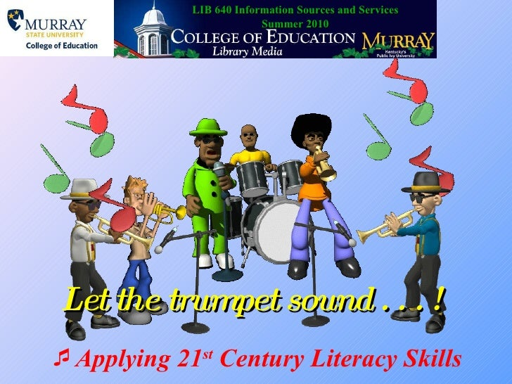 Let the trumpet sound 2003