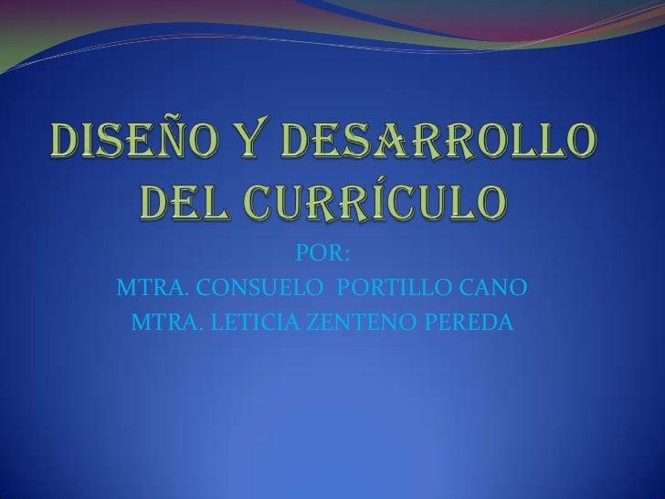 Lety diapositivas dise o y desarrollo del curriculo for Diseno de diapositivas