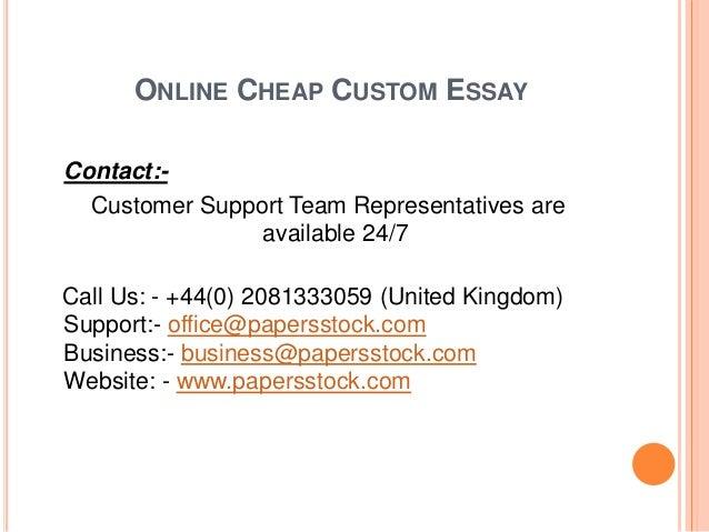 Standard academic essay outline