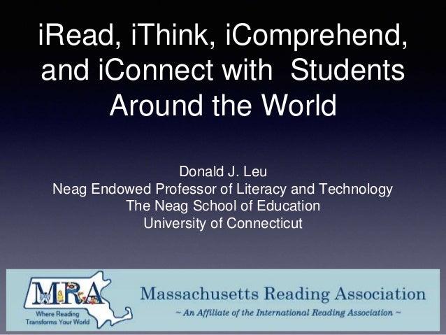 Leu   Keynote at Mass Reading 2014