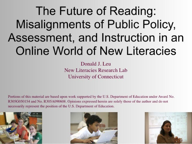 Leu Keynote at the Summit on Reading: School Library Journal