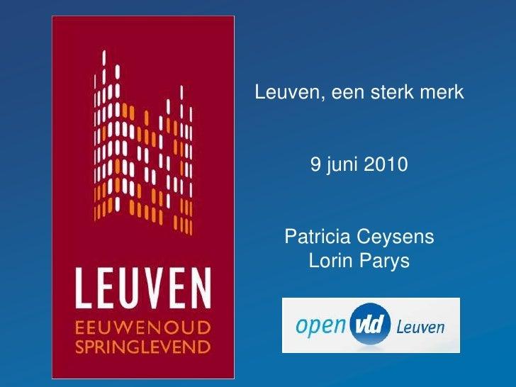 Leuven eeuwenoud en kerngezond