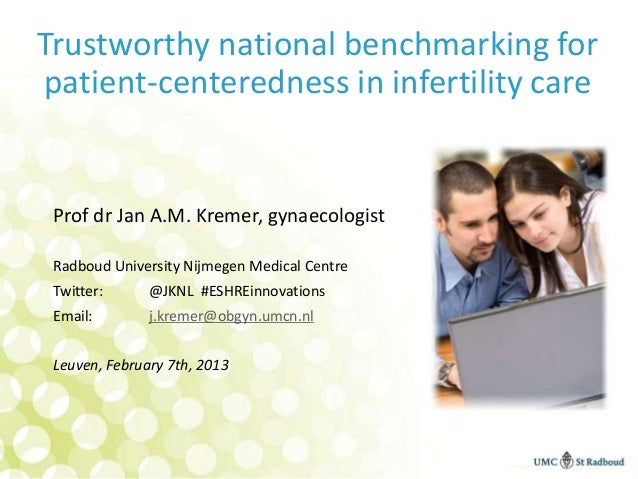 Benchmarking patientcentredness in The Netherlands (fertility care)