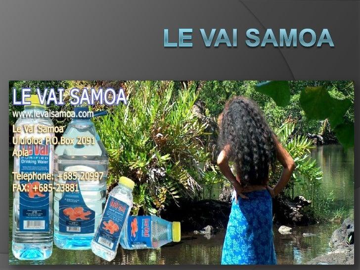 Ululoloa P.O.Box 2091                                        Apia                                      Samoa              ...