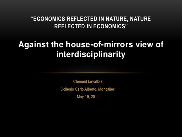 Against the house-of-mirrors view of interdisciplinarity