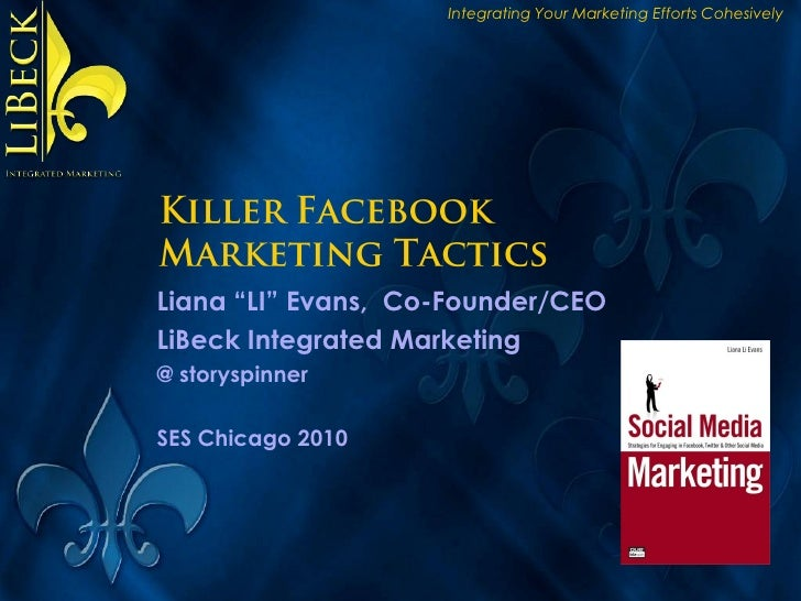 Killer Facebook Marketing Tactics & Strategies