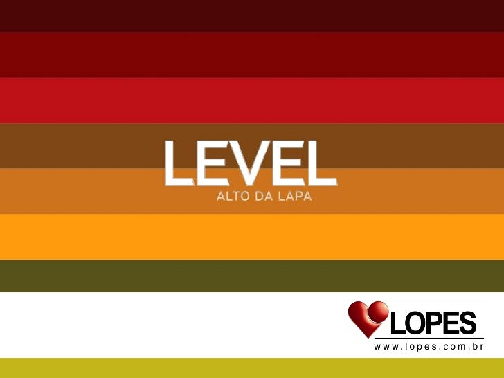 Level  Alto Da  Lapa    Celso  Corretor