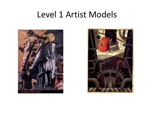 Level 1 artist models 2014