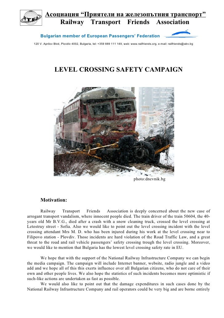 Level Crossing Safety Concept