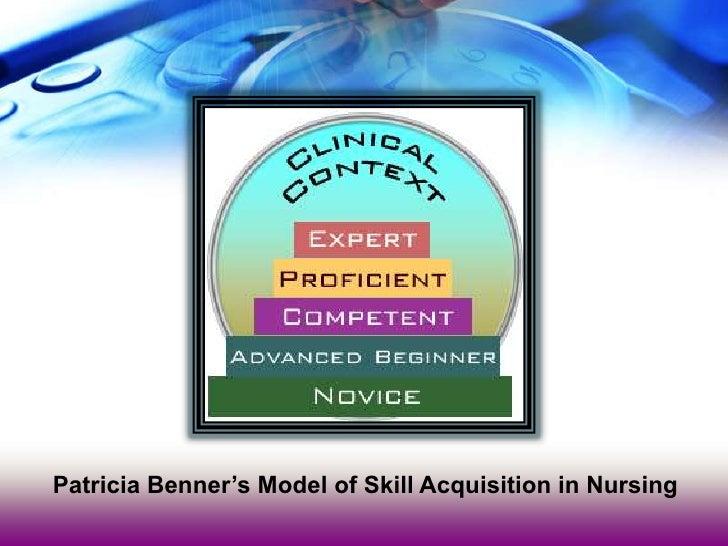 benner novice to expert in nursing