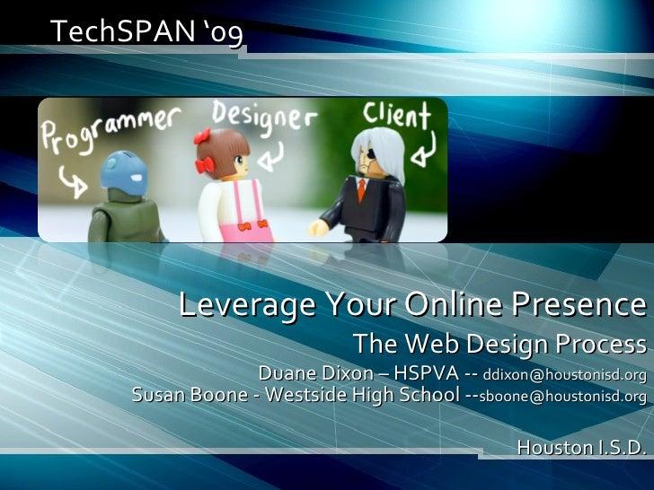 Leverage Your Online Web Presence