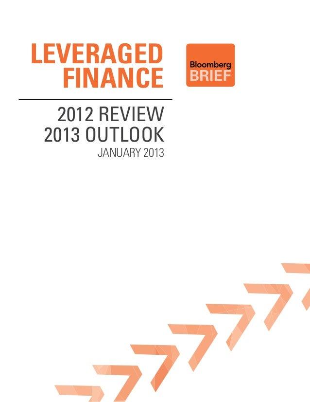 Leveraged Finance 2012 Outlook