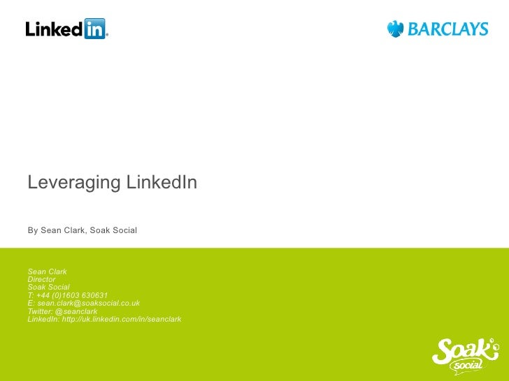 Leveraging LinkedIn for Business