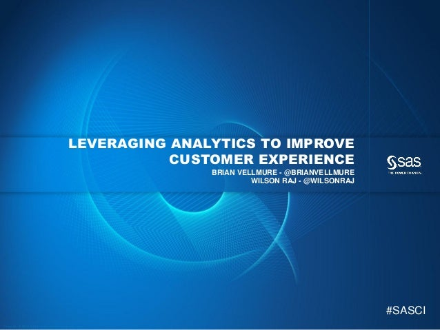 Leveraging Marketing Analytics to Improve Customer Experience