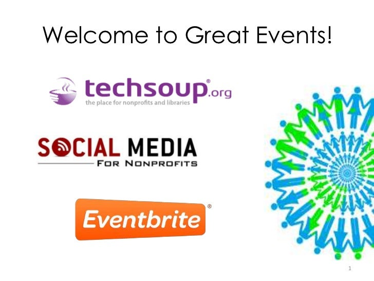 Welcome to Great Events!                           1