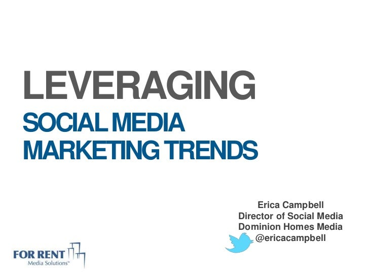 Leveraging Social Media Marketing Trends for the Apartment Association of Greater Knoxville