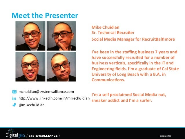 2013-03-11: Leveraging social media to recruit
